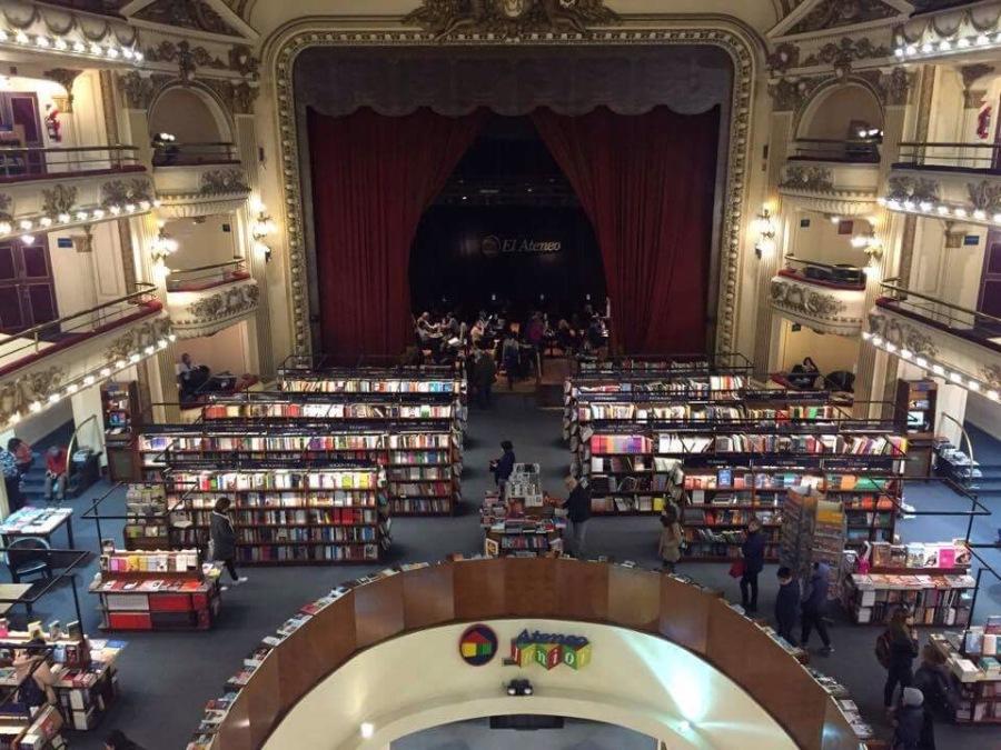El Ateneo bookstore Buenos Aires honeymoon