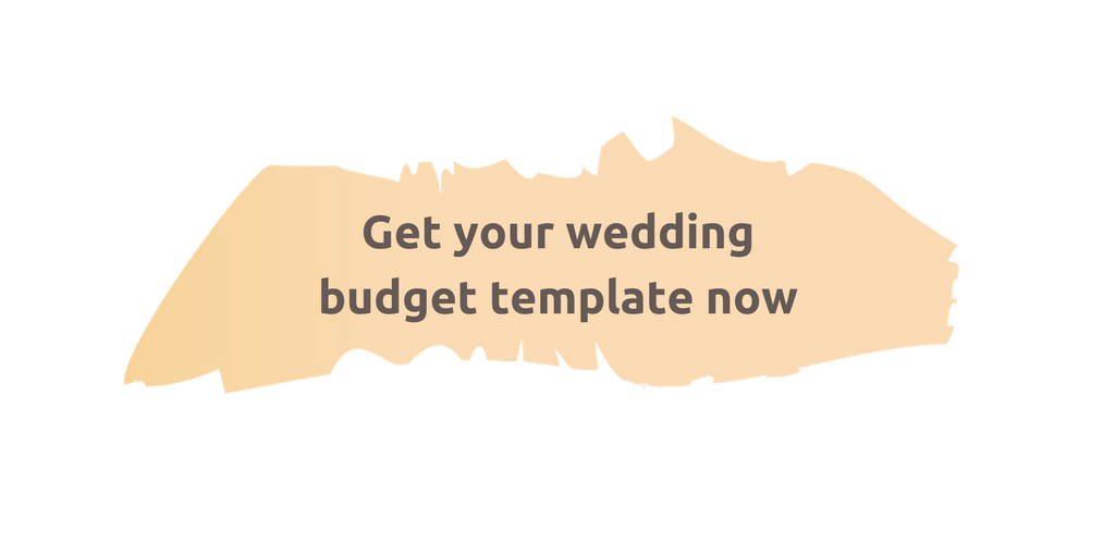 Get your wedding budget template now